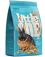 Little One Compleet voer voor dwergkonijnen in zak, verpakking van 4 (4 x 900 g)
