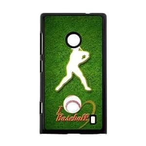 Canting_Good Baseball Custom Case Shell Skin for Nokia Lumia 520