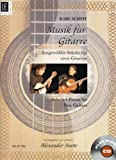 Music for Guitar: Selected Pieces for Two Guitars (Book & Play-along CD)