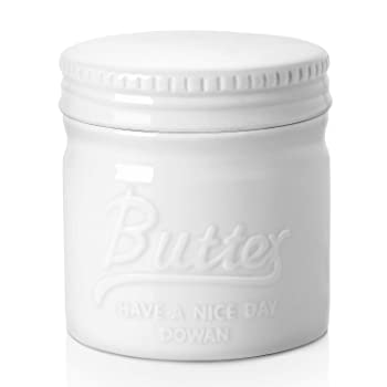 Dowan Big Capacity Embossed Container Butter Keeper