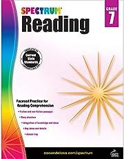 Spectrum Reading Workbook, Grade 7