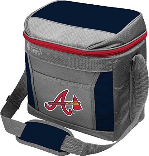 MLB Unisex Coleman 24 Hour - 16 Can Soft Sided Cooler  - Atlanta Braves