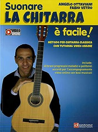 Suonare La Chitarra È Facile!: Ottaviani a., Vetro F.: Amazon.es ...
