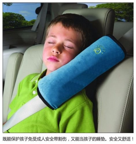 UNAKIM--AUTO ACCESSORIES Children Car Seat Belt Strap Soft Shoulder Pad Pillow - Sf Mall Shopping