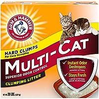 Multi-cat strength clumping litter (original ) 9.7 kg