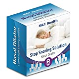 Snoring Solution Set of 8 Premium Nasal Dilators To Ease Breathing and Snore