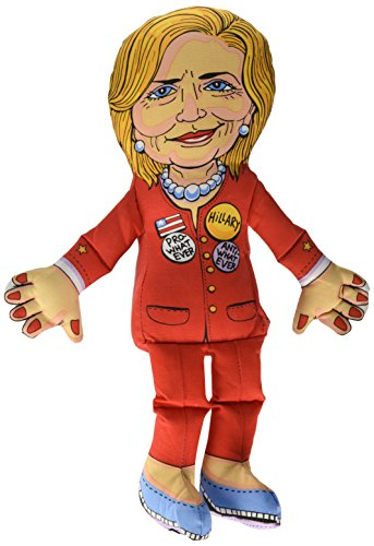 (Fuzzu Hillary Clinton Presidential Parody Dog Toy)