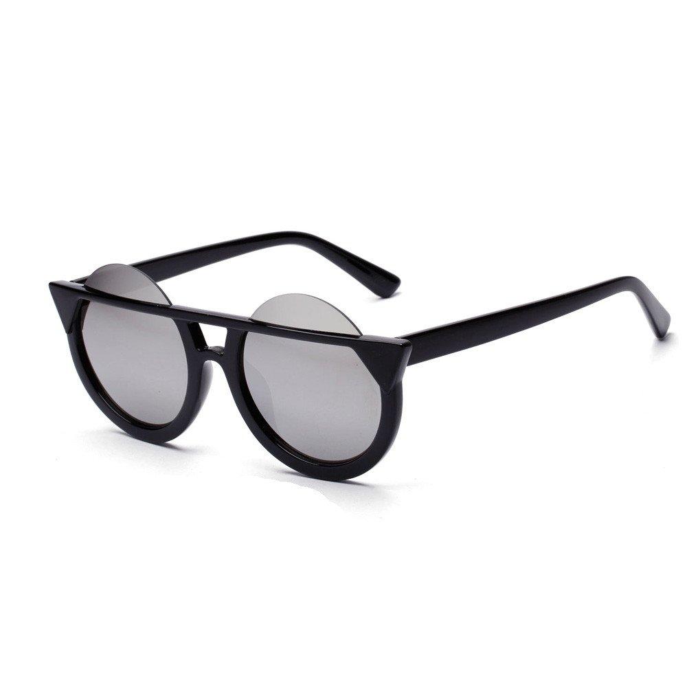 Fashion Men Womens Retro Vintage Round Frame UV Sunglasses FORUU Glasses
