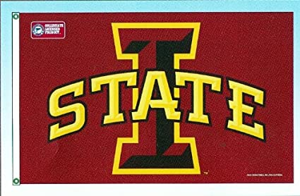 NCAA Iowa State Cyclones 3-by-5 Foot Flag With Grommets