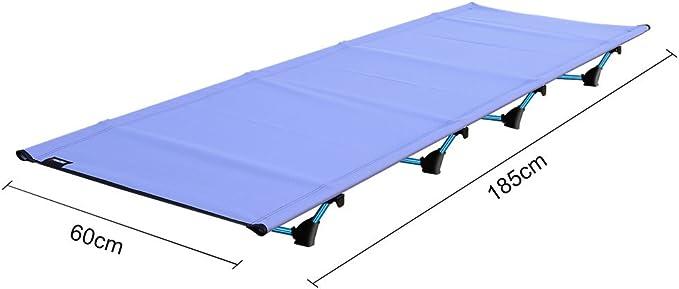 OUTAD Campingbett leicht faltbar f/ür Camping Bett mit 200/kg Hohe Gewicht Kapazit/ät
