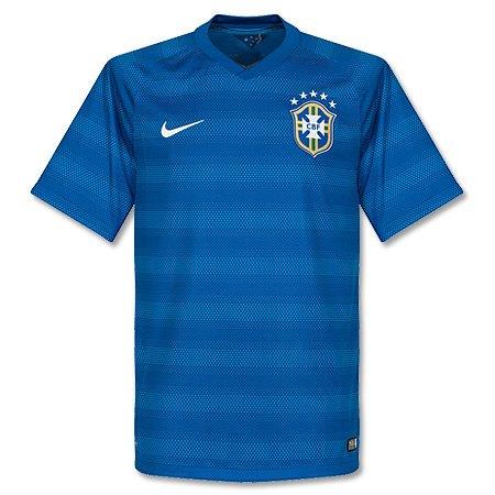 Nike Brazil Away World Cup Jersey Size Youth XL