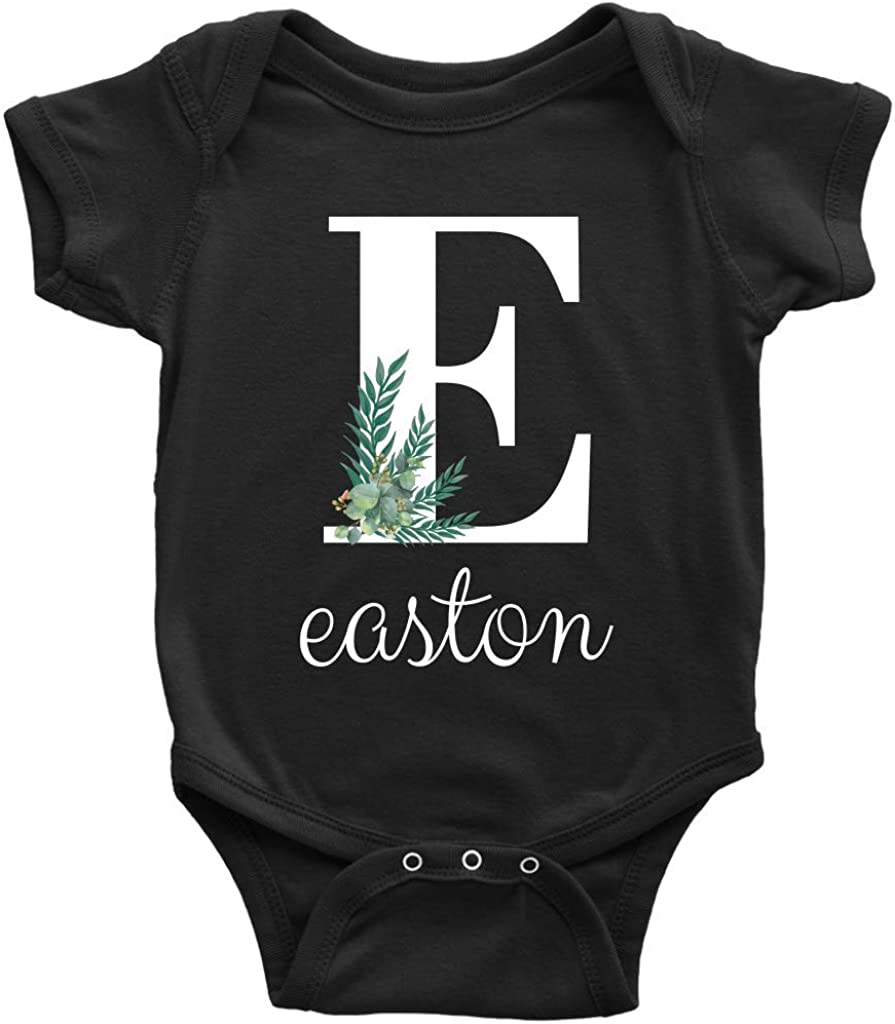 Custom Baby Bodysuit Custom Bodysuit Personalized Baby Gift Name Bodysuit Baby Boy Clothes Take Home Outfit Monogram