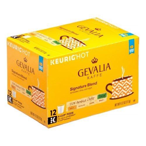 Gevalia Kaffe Signature Blend Decaf Coffee Bundle, Light Roast, 36 Pods (Ships in Shrink Wrapped Retail Packaging)