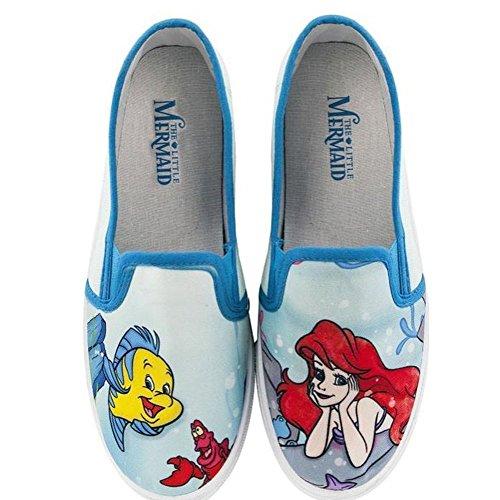 Disney womens Little Mermaid Women's Flats -