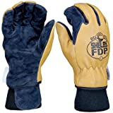 Firefighters Gloves, XL, Pigskin Lthr, PR