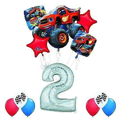 Amazon.com: Blaze y los Monster Machines 2 nd cumpleaños ...
