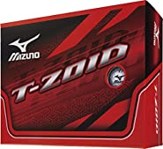 Mizuno T-ZOID White 1 dozen(12 pieces)