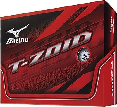 Mizuno T-ZOID White 1 dozen(12 pieces)