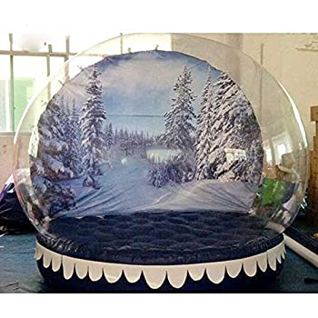 Amazon.com: Decoración navideña hinchable bola de nieve ...