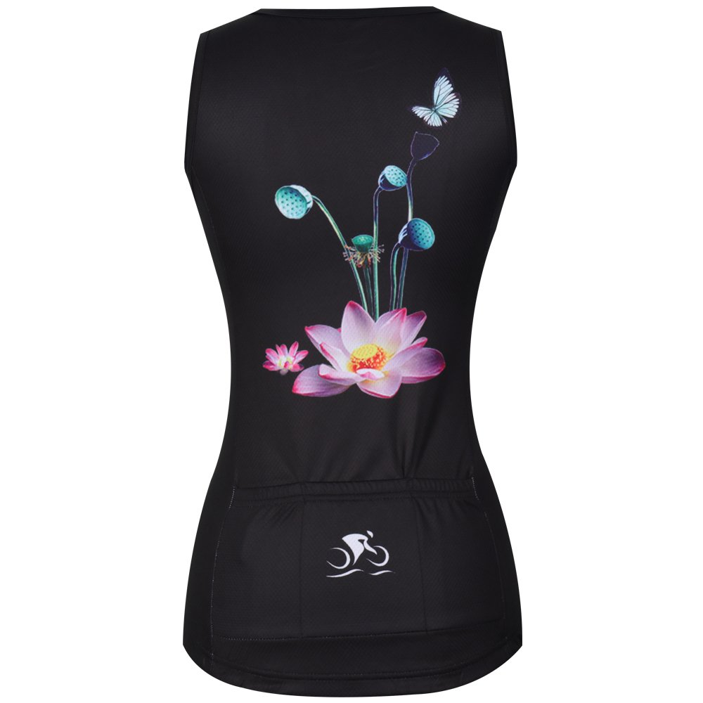 ZM Cycling Sleeveless Jersey Vest Women/Bicycle Cycle summer Vest Women/Breathable Bike Vest Sleeveless (XL, 3) by ZM (Image #4)