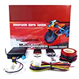 Basic Motorcycle Alarm Security System with 2 Remote Controls Siren