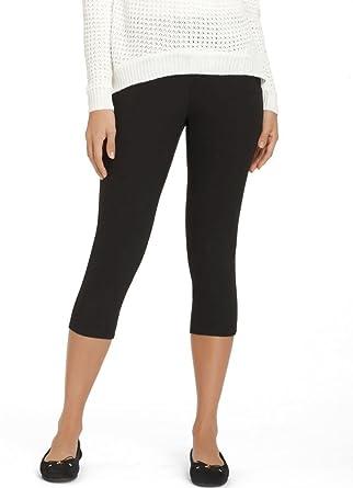 8a92a88f22f08 Jockey Women's Hosiery Chino Capri Legging, White, S at Amazon ...