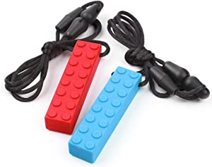 Sweepstakes: Sensory Chew Necklace by TYRY.HU Set Teether Brick Silicone…