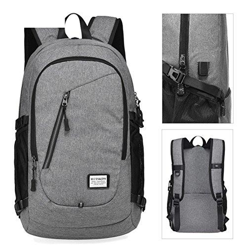 Bolso de hombro ligero de la capacidad grande,bolso ocasional del estudiante de la manera, mochila de la computadora del negocio-E B