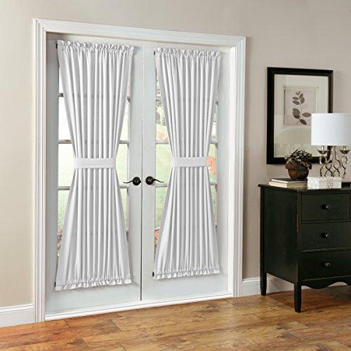 No. 918 Montego Casual Textured Patio Door Panel, 48″ x 72″, White