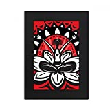 DIYthinker Lotus Silhouette Celebrate Mexico Mexican Desktop Photo Frame Picture Black Art Painting 5x7 inch
