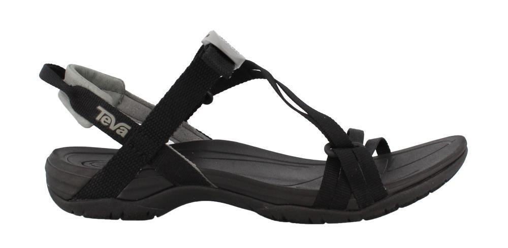 Teva Womens Women's W Sirra Sport Sandal B071WML4NB 9.5 B(M) US|Black