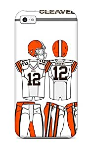 Best 6183455K813862215 clevelandrowns NFL Sports & Colleges newest iPhone 5c cases