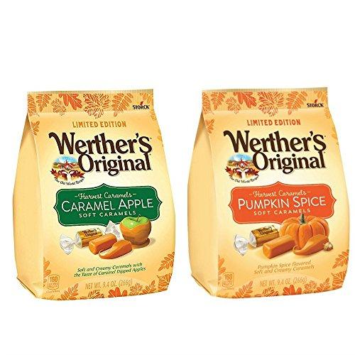 (Werthers Original Harvest Caramel Pack: Caramel Apple & Pumpkin Spice Soft)