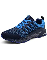 UBFEN Running Shoes Mens Womens Trainers Walking Athletic Breathable Outdoor Sneakers Sports Gym Jogging Fitness Casual Shoes