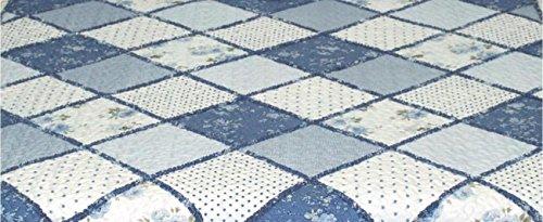 Plaid Bedding 3 Piece Bedspread Quilt Set, Queen by sazana
