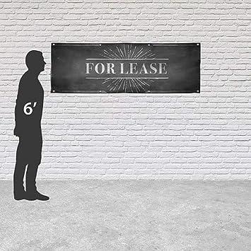 Chalk Burst Heavy-Duty Outdoor Vinyl Banner 12x4 CGSignLab for Lease