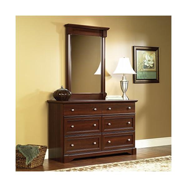 Sauder Palladia Dresser, Vintage Oak finish