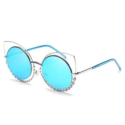 Shuzhen,Señoras y señoras Retro Cat Eye Glasses Gafas ...