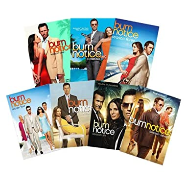 Burn Notice 1-7 Complete Series - Seasons 1,2,3,4,5,6 & 7