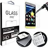 "ANGELLA-M Acer Liquid Z330 Screen Protector, HD Clear Tempered Glass Screen Protectors for Acer Liquid Z320 Z330 (4.5"") [Transparent]"
