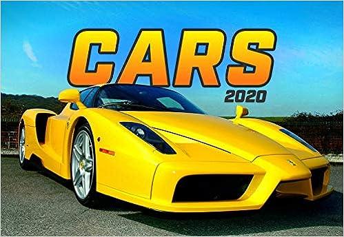 Cars 2020 Wall Calendar