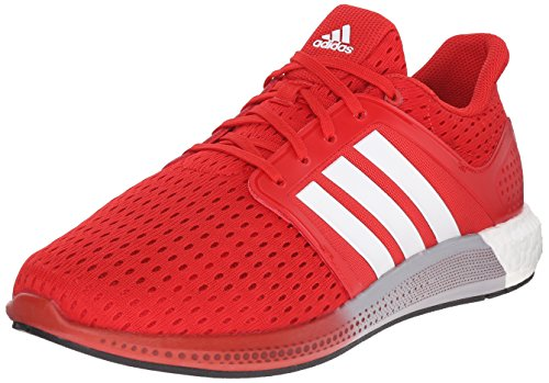 adidas Performance Men's Solar Boost M Running Shoe Scarlet Red/White/Maroon - 12 D(M) US