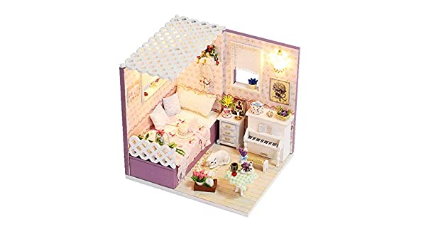 Amazon com: Love in Budapest DIY Doll House Wooden Paper