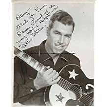 Slim Whitman Autographed Preprint Signed 11x14 Poster Photo