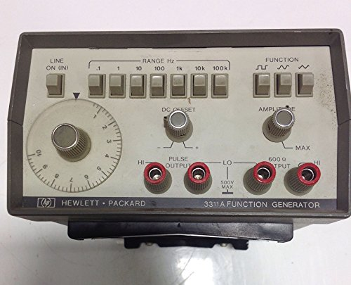 Function Packard Hewlett Generator - HEWLETT PACKARD FUNCTION GENERATOR 3311A 104635