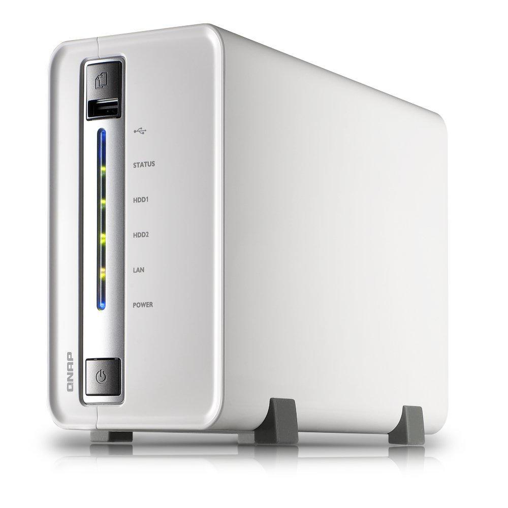QNAP TS-212-E 2TB (WD RED) 2-bay home & SOHO NAS for personal cloud and  social sharing