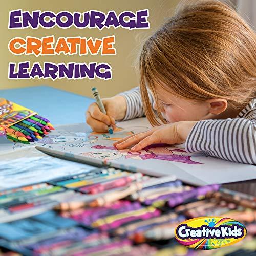 Creative Kids Bulk Classroom Crayons – 36 Packs of 24 Bright, Vibrant Wax Coloring Crayons for Preschool, Kindergarten, Elementary School & Art Class Teachers – ASTM Certified Non Toxic by Creative Kids (Image #5)