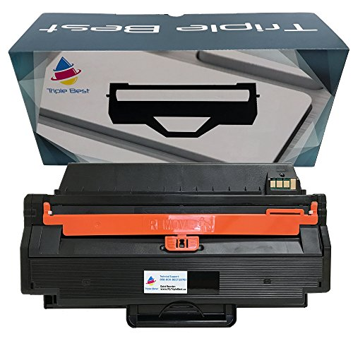 Triple Best MLT-D103L Compatible High-Yield Black Laser Toner Cartridge for Samsung ML-2950ND ML-2955DW ML-2955ND SCX-4729FD SCX-4729FW (2,500 Page Yield)