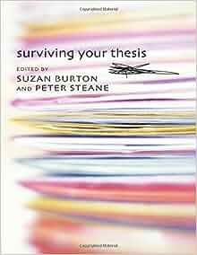 surviving your current thesis suzan burton