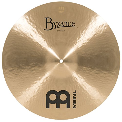 Meinl Cymbals B18TC Byzance 18-Inch Traditional Thin Crash Cymbal (VIDEO)